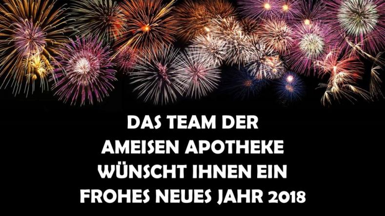 Wir wünschen Ihnen ein gutes neues Jahr