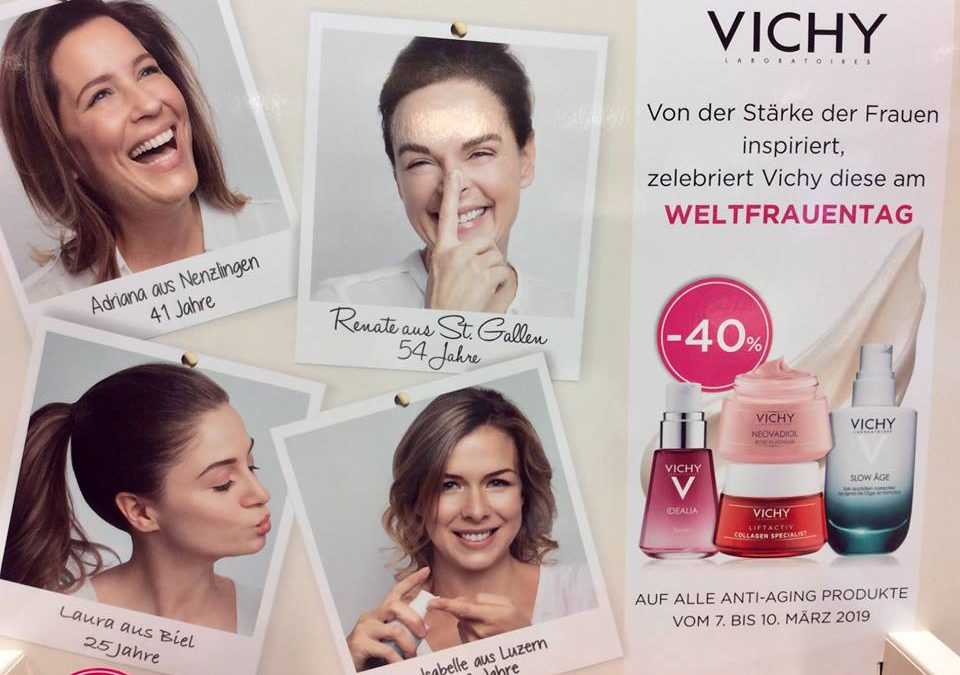 40 % Rabatt auf Vichy Anti-Aging Pflegen, 7./8./9. März